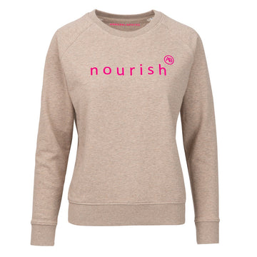 Nourish Sweatshirt - Natural Nourish - Annabel Brocks