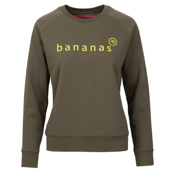 Nourish Sweatshirt - Olive Bananas - Annabel Brocks