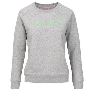 Nourish Sweatshirt - Grey with rocket - Annabel Brocks