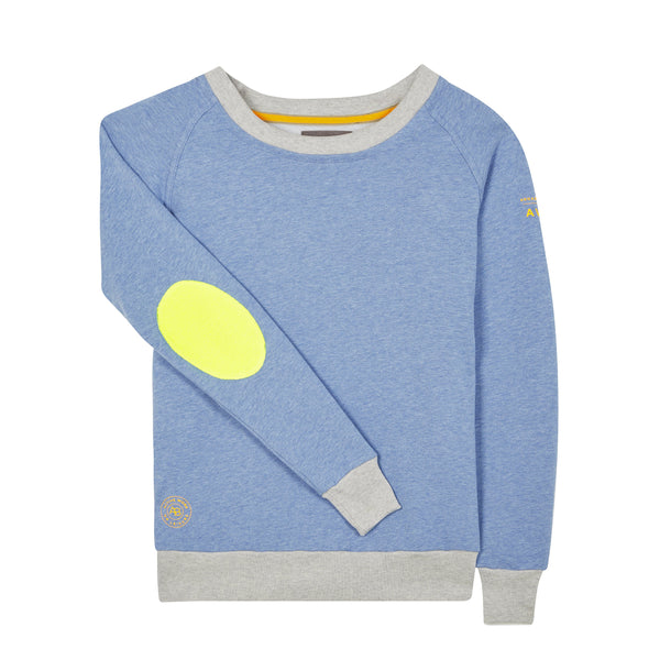 AWOL - Baby Blue with Grey Rib and Neon Yellow Patch - Annabel Brocks