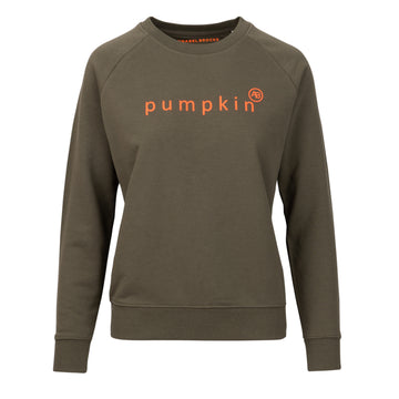 Nourish Sweatshirt - Khaki Pumpkin - Annabel Brocks