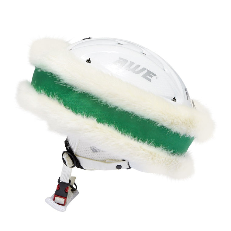 Green and White 'Snowband'