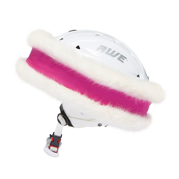 Pink and White 'Snowband'