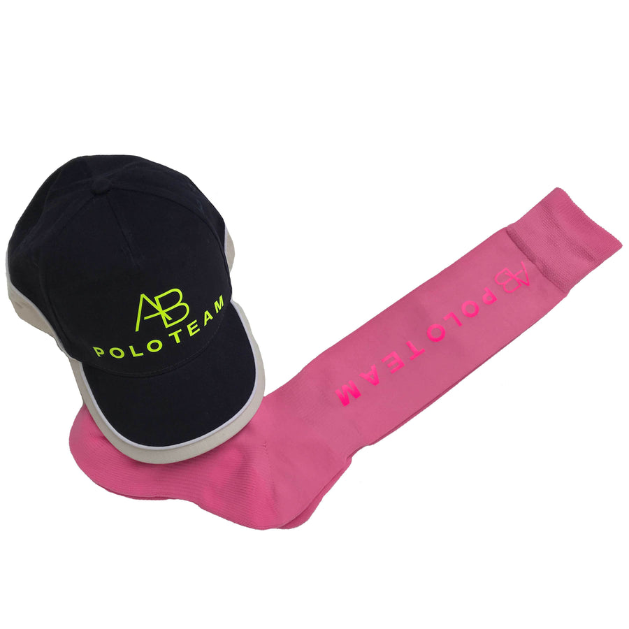 AB POLO - pink socks with pink - Annabel Brocks