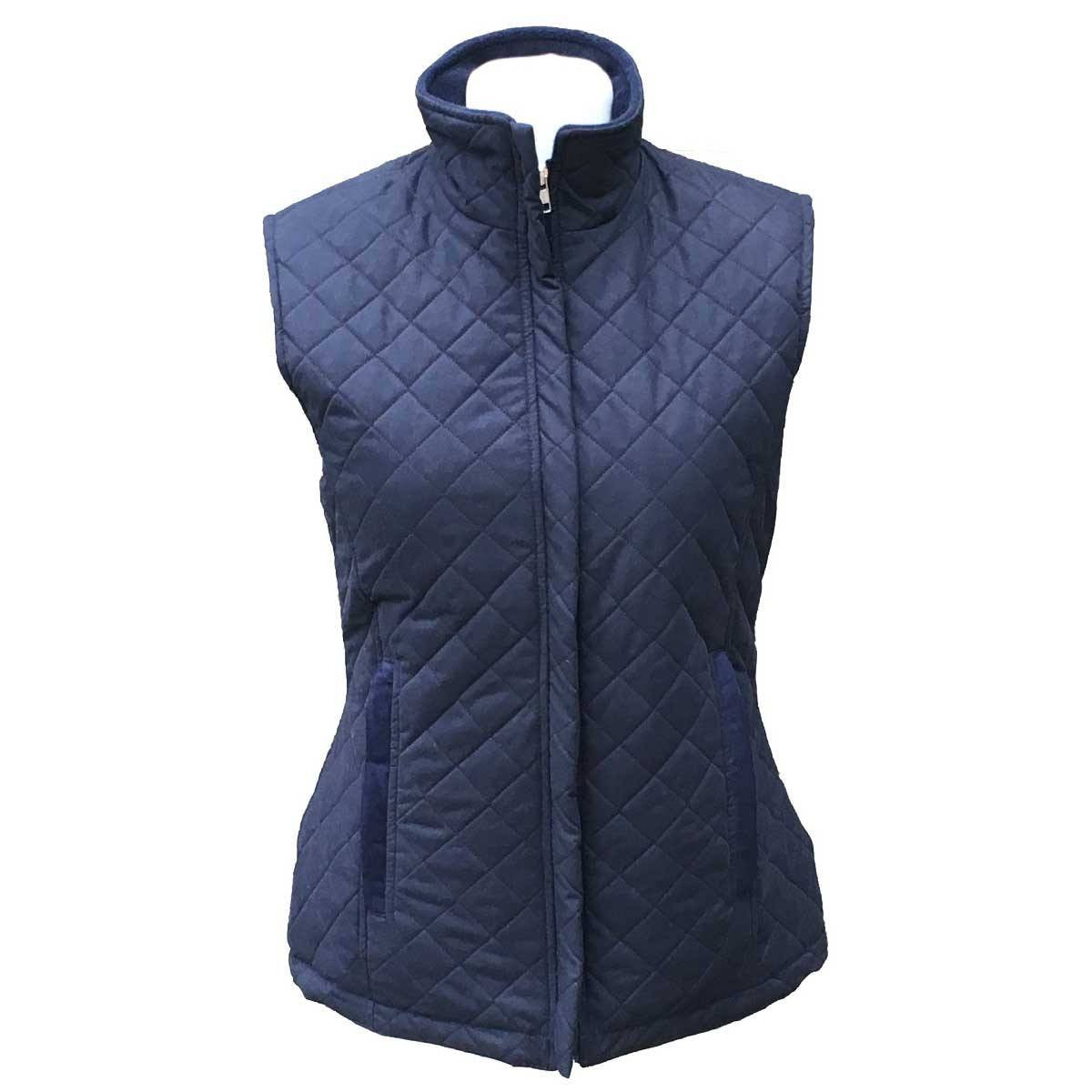 Navy Quilted Gilet – Annabel Brocks : quilted gilet - Adamdwight.com