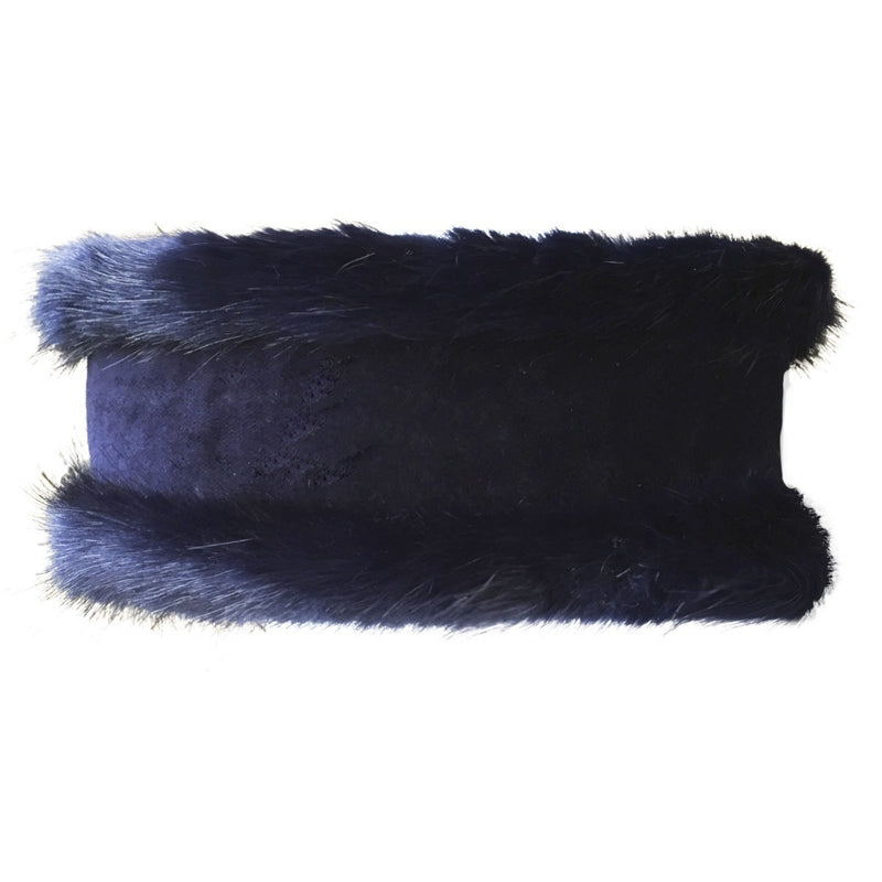 Luxury Navy Blue and Navy Velvet - Annabel Brocks