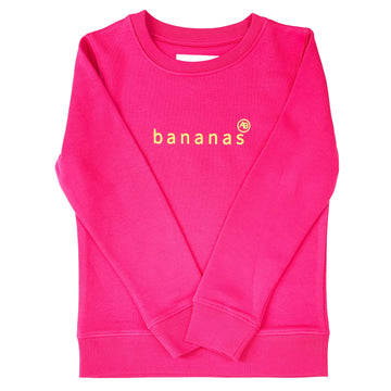 Nourish Sweatshirt - Pink Bananas - Annabel Brocks