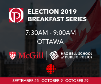 Election 2019 Breakfast Series - October 9