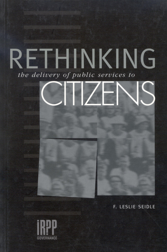 Rethinking the Delivery of Public Services to Citizens