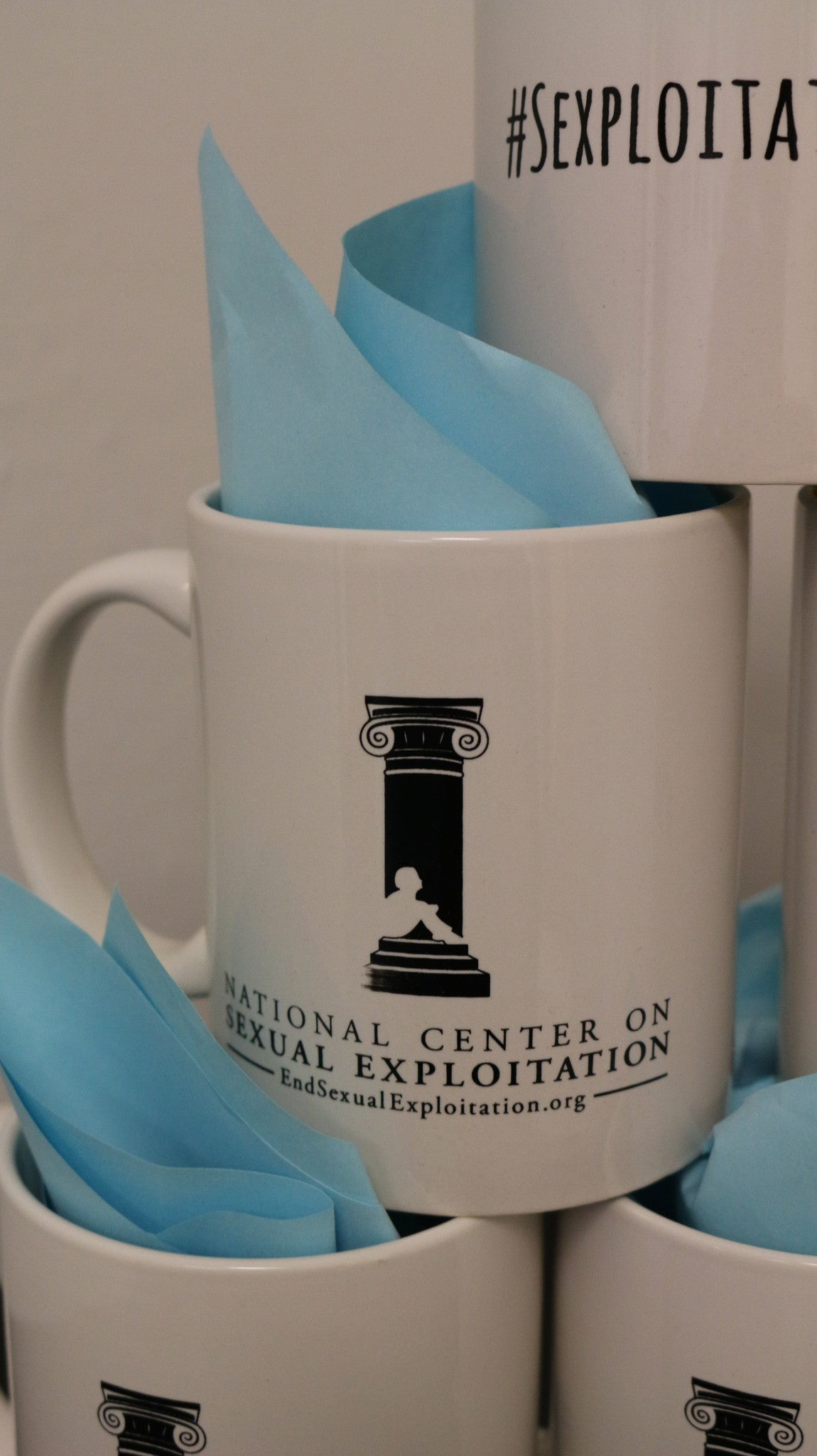 #SexploitationFree Mug