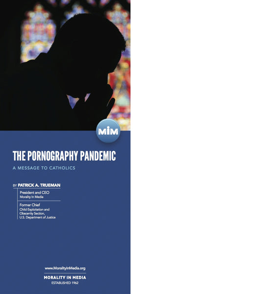 'The Pornography Pandemic: A Message to Catholics' Brochure