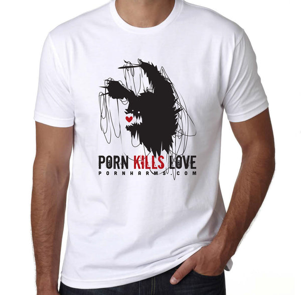 'Porn Kills Love' Tee