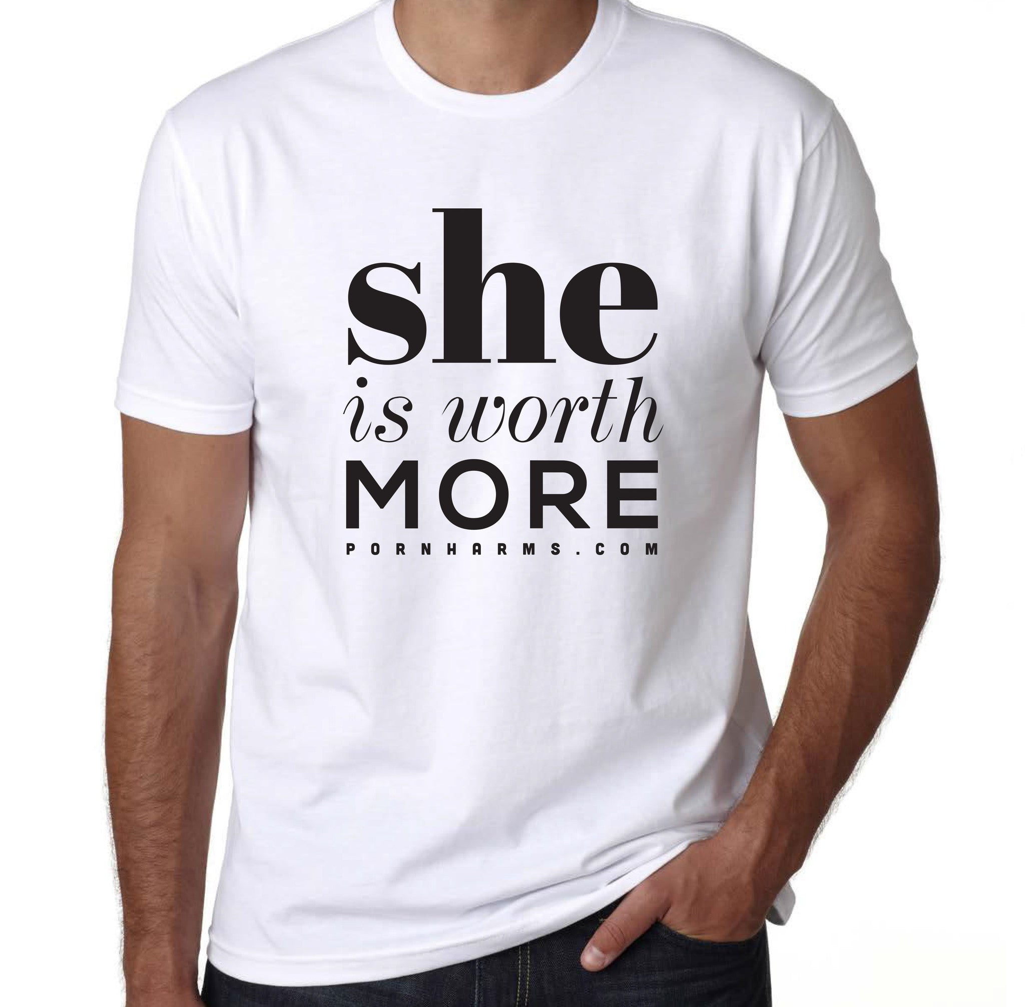 'She is Worth More' Tee