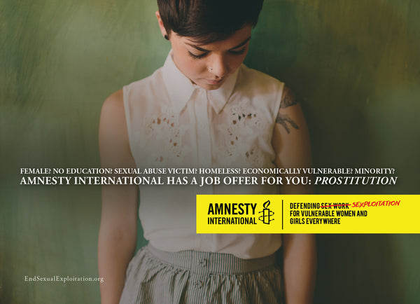 Amnesty International Postcards