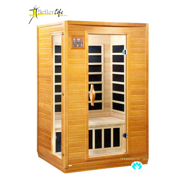Buy Better Life BL6202 2 Person Carbon Infrared Sauna Online
