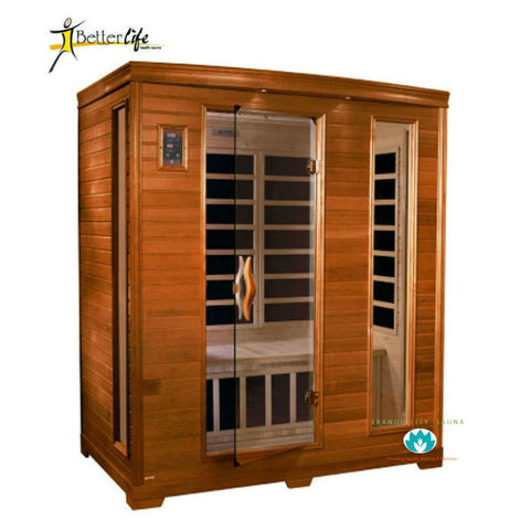 Buy Better Life BL6444-04 3 Person Carbon Infrared Sauna Online