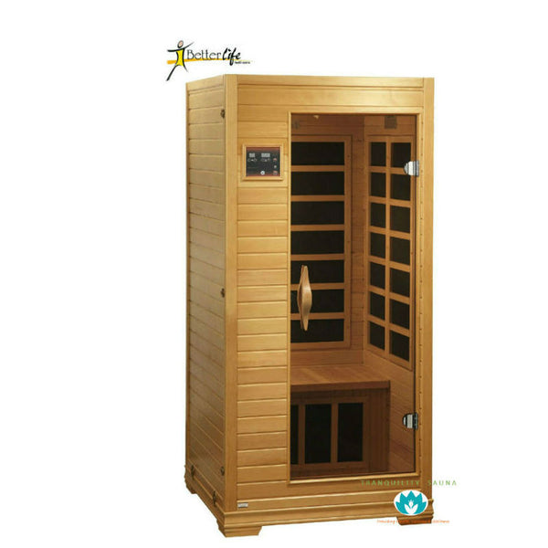 Buy Better Life Premium BL6109 1-2 Person Carbon Infrared Sauna Online