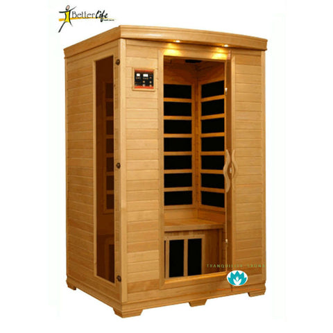 Buy Better Life Premium BL6232 2 Person Carbon Infrared Sauna Online