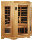 Better Life Premium BL6235 3 Person Corner Carbon Infrared Sauna