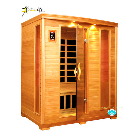 Buy Better Life Premium BL6444 3 Person Carbon Infrared Sauna Online