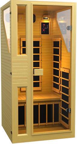 Buy JNH Commercial 1 Person Carbon Far Infrared Sauna Online