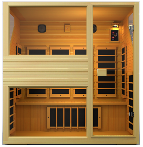 Buy JNH Commercial 4 Person Carbon Far Infrared Sauna Online