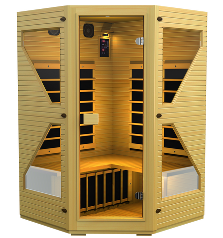 Buy JNH Commercial Corner Carbon Far Infrared Sauna Online