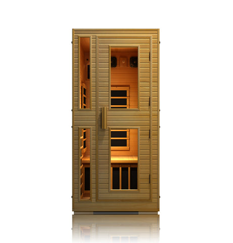 JNH Joyous 1 Person Carbon Infrared Sauna