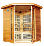 HeatWave Whistler (SA1320) 4 Person Corner Carbon Infrared Sauna