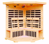 HeatWave Tucson (SA2420DX) 4 Person Corner Carbon Infrared Sauna