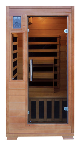 Buy Luxe Saunas SA3202 1-Person Carbon Infrared Sauna Online - Fast free shipping plus $35 discount code for limited time. In-stock, order today
