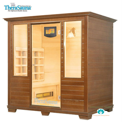 Buy TheraSauna TS7552 4 Person Face to Face Ceramic Infrared Sauna Online