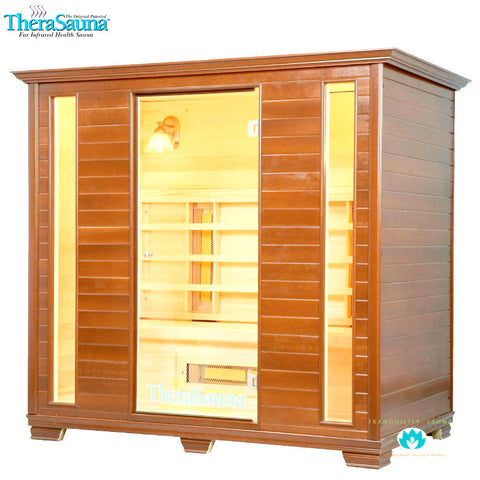 Buy TheraSauna TS7951 4 Person Premiere Ceramic Infrared Sauna Online