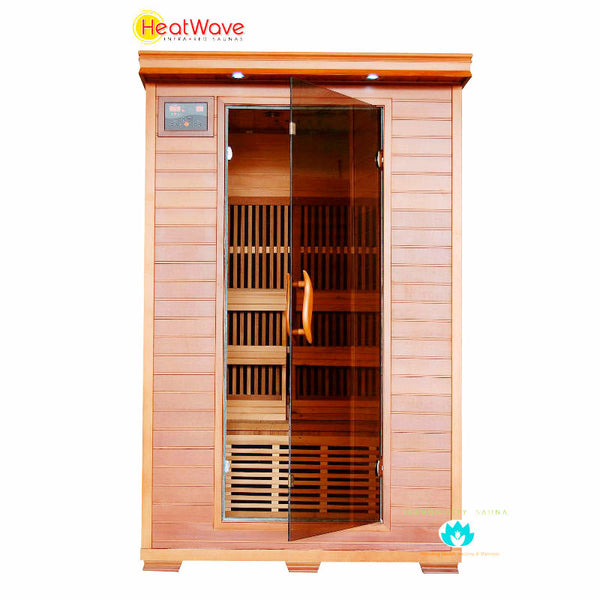 Buy HeatWave Yukon (SA1309) 2 Person Carbon Infrared Sauna Online
