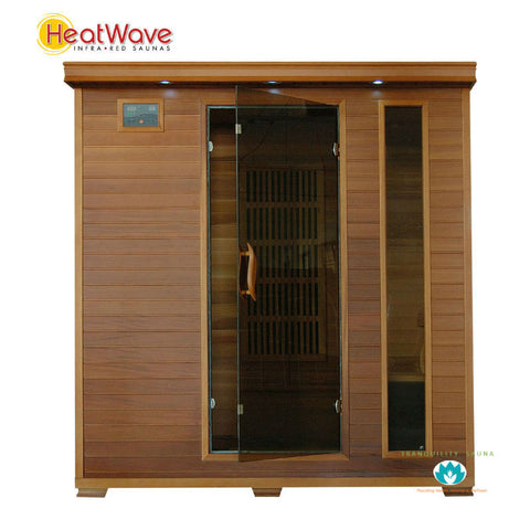 Buy HeatWave Klondike (SA1318) 4 Person Carbon Infrared Sauna Online