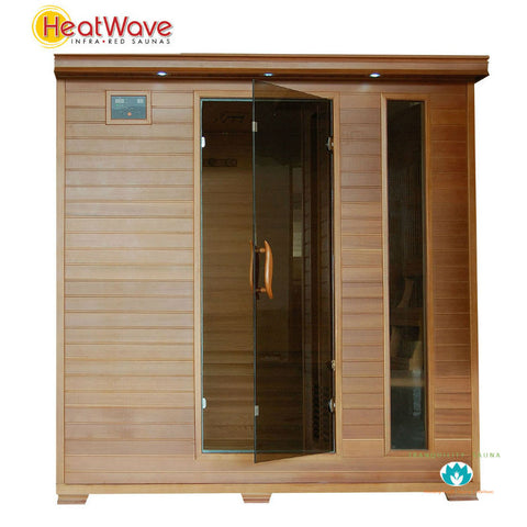 Buy HeatWave Great Bear (SA1323) 6 Person Carbon Infared Sauna Online
