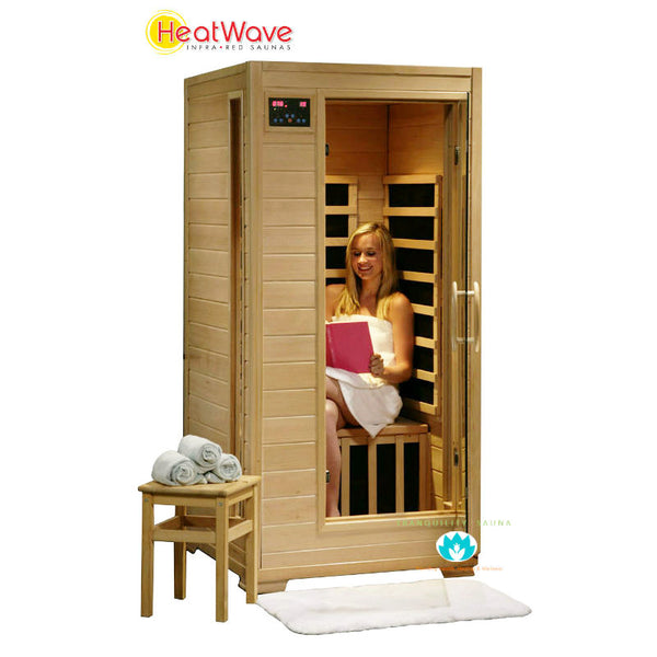 Buy HeatWave Buena Vista (SA2402) 1 Person Carbon Infrared Sauna Online