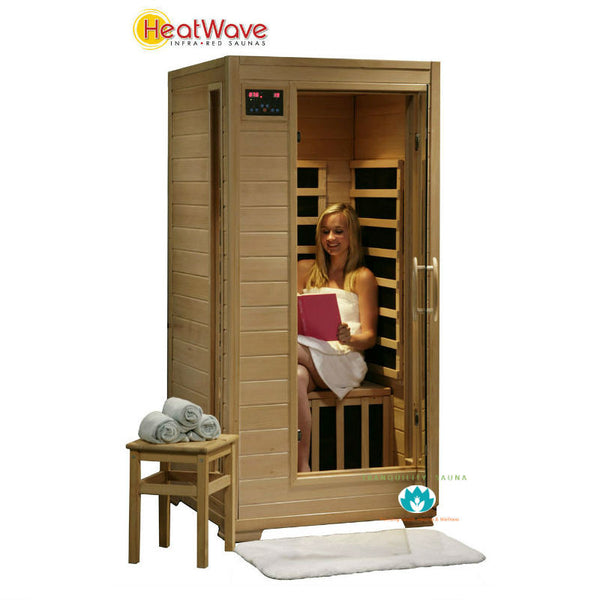 Buy HeatWave Buena Vista (SA2400) 1 Person Ceramic Infrared Sauna Online
