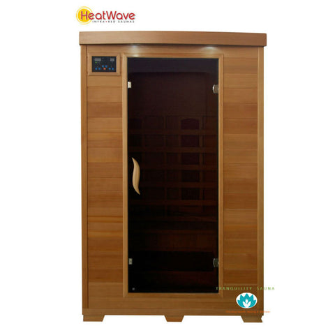 Buy HeatWave Coronado (SA2406) 2 Person Ceramic Infrared Sauna Online
