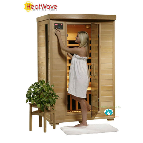 Buy HeatWave Coronado (SA2409) 2 Person Carbon Infrared Sauna Online