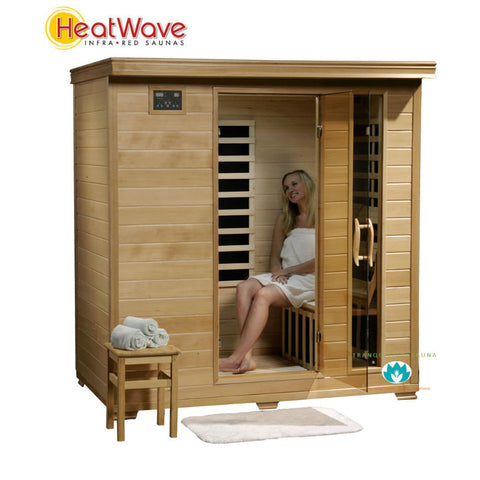 HeatWave Monticello (SA2418) 4 Person Carbon Infared Sauna