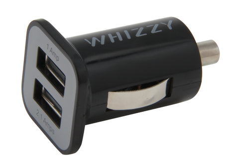 Whizzy 3.1 Amp 2 USB Port Car Charger USBC2