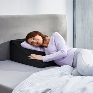 Hydraluxe+™ React Cooling Memory Foam Wedge Pillow