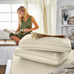 Aromatherapy Chamomile Essential Oil-Infused Memory Foam Pillow