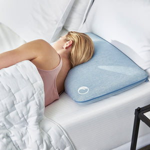 FreshFoam™ Washable Memory Foam Pillow – Low Profile