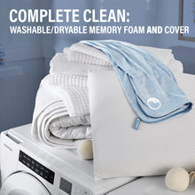 Comfort Revolution FreshFoam™️ Washable Memory Foam Pillow – Low Profile
