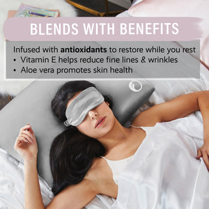 Goodnight + Glow Pure Silk Eye Mask