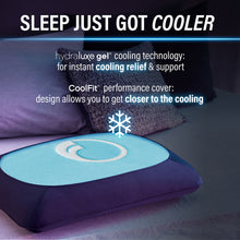 Hydraluxe+™ Gel Cooling Memory Foam Pillow