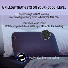 Hydraluxe+™ React Cooling Memory Foam Pillow