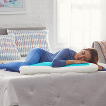 Comfort Revolution Originals - King Blue Bubble Gel Memory Foam Pillow